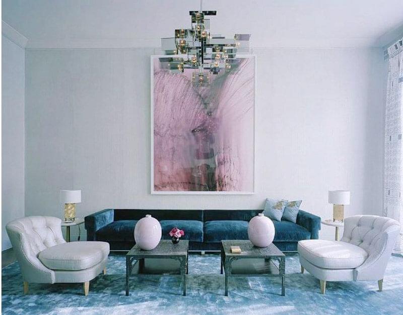 R de Room INTERIORISMO. Trucos para decorar con azul serenity.