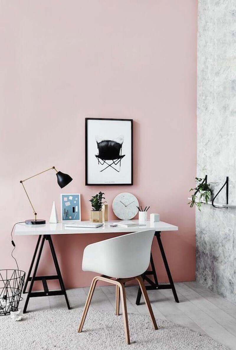 Trucos para decorar con el color Pantone 2016: rosa cuarzo.
