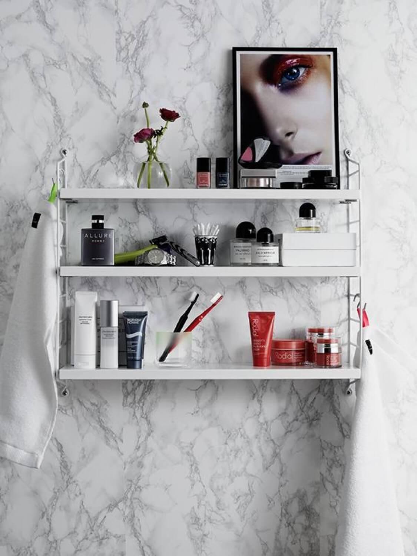 R de Room trucos para decorar una string pocket_baño