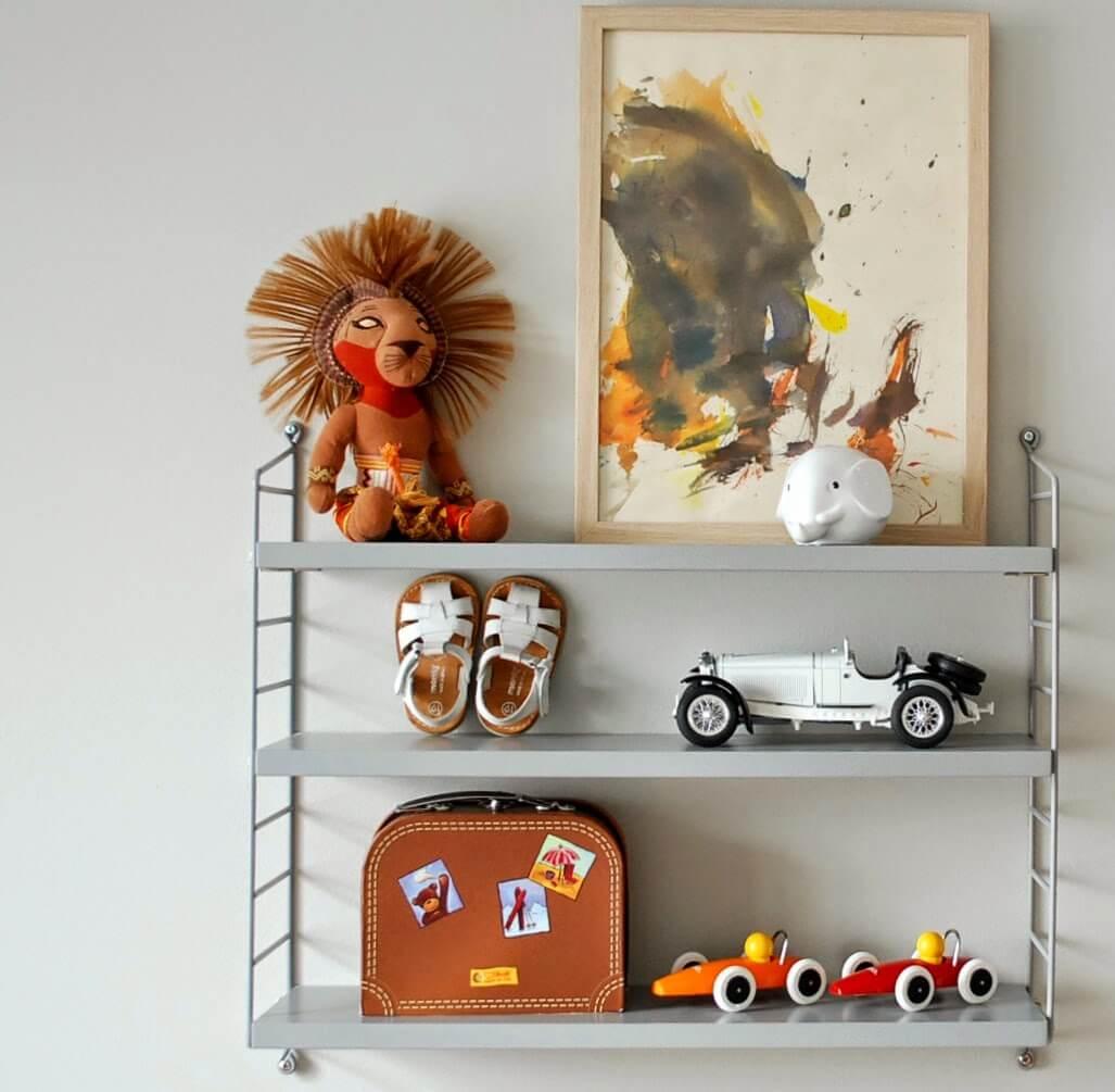 R de Room trucos para decorar una string pocket_niños