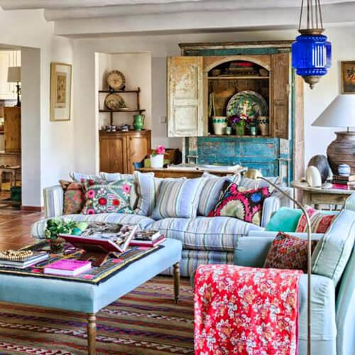 R DE ROOM BLOG. Trucos para decorar mezclando estilos y que tu casa no parezca un bazar.