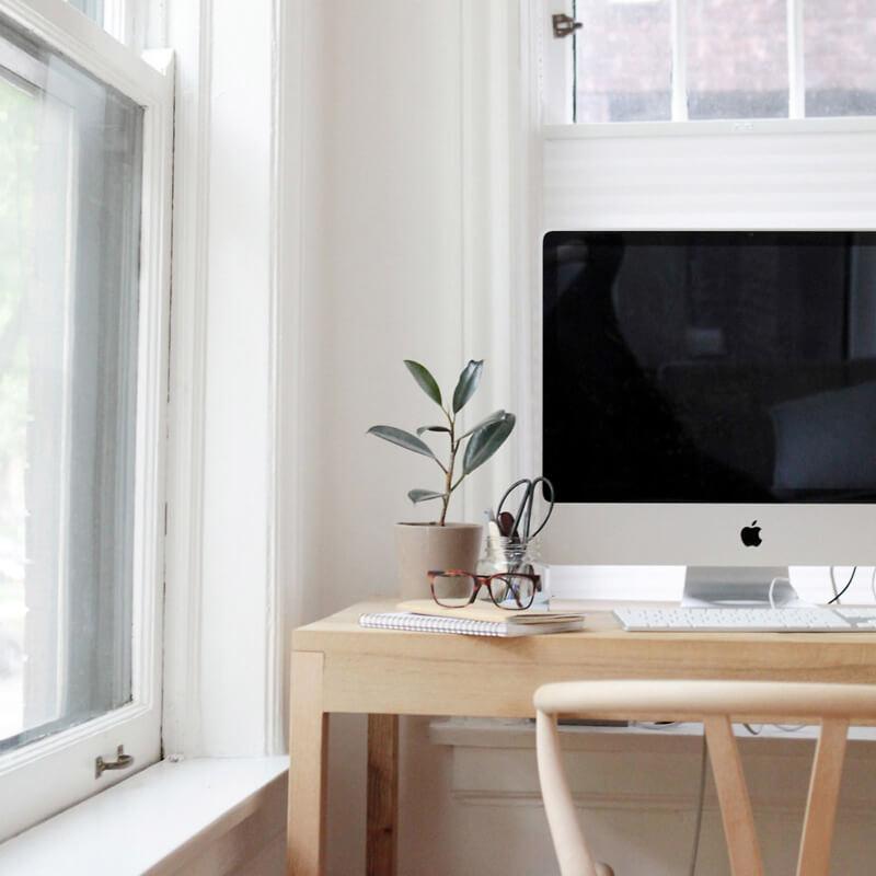 Trabajar en casa; 9 claves para tener un puesto de trabajo agradable y rendir al máximo.