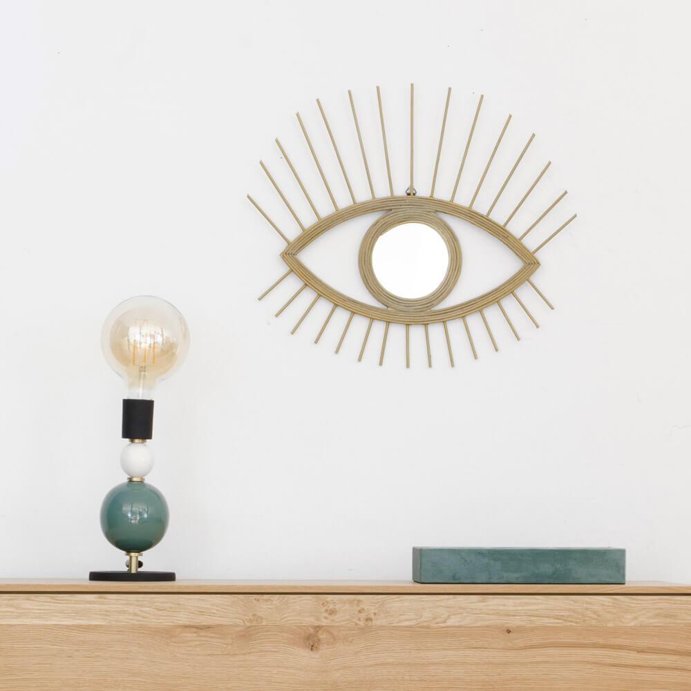 TENDENCIA DECO: espejos con forma de ojo