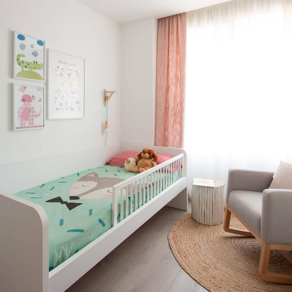 Proyecto de interiorismo en Aravaca (Madrid) por R de Room. Diseño de dormitorio infantil.