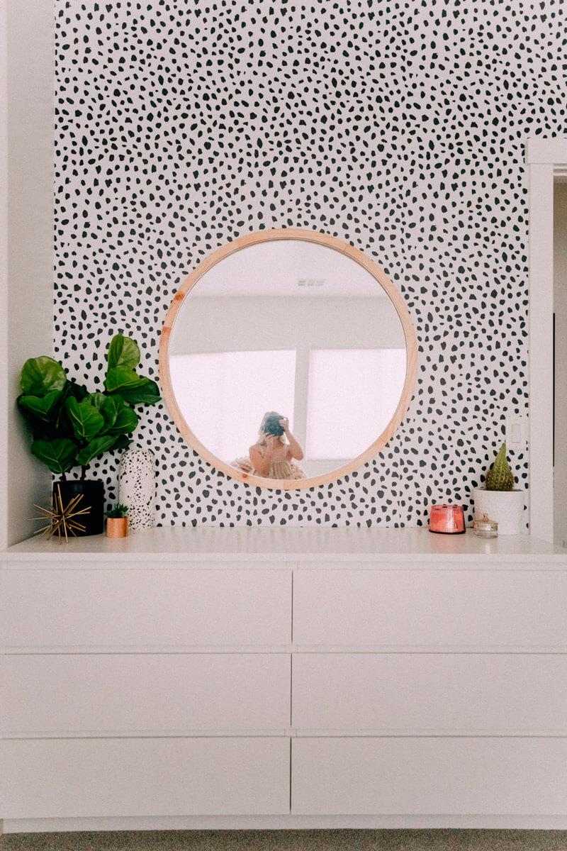 Decorar paredes sin cuadros - papel pintado