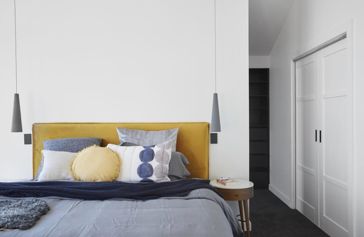Tendencia deco: terciopelo. Guía de estilo para tener una casa con clase. Cabeceros de terciopelo.