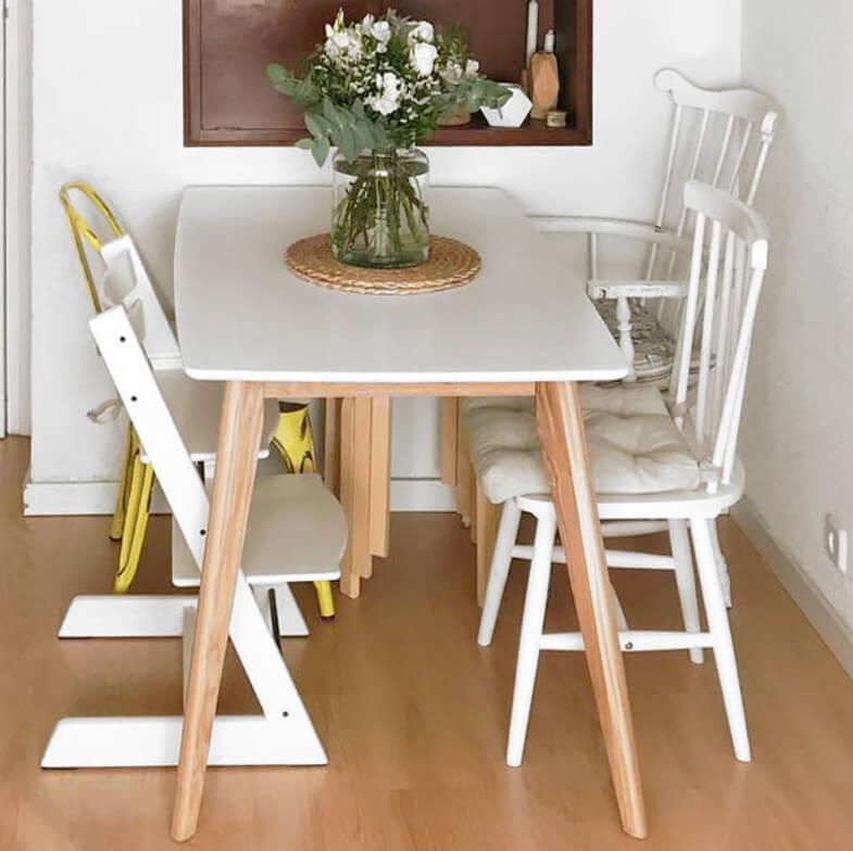 ¿Cómo elegir bien una mesa de comedor? Modelo rectangular compacta fija UNN.