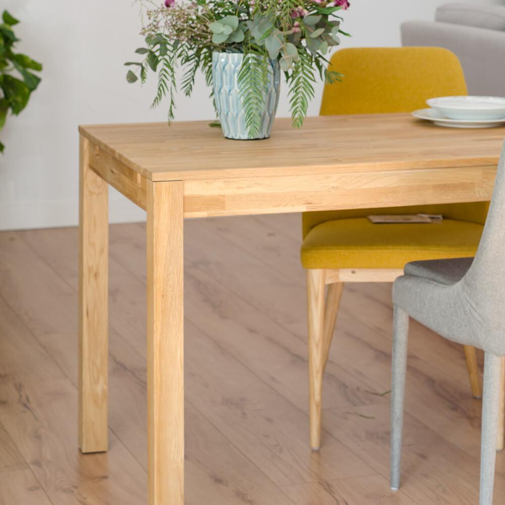 ¿Cómo elegir bien una mesa de comedor? Modelo rectangular extensible.