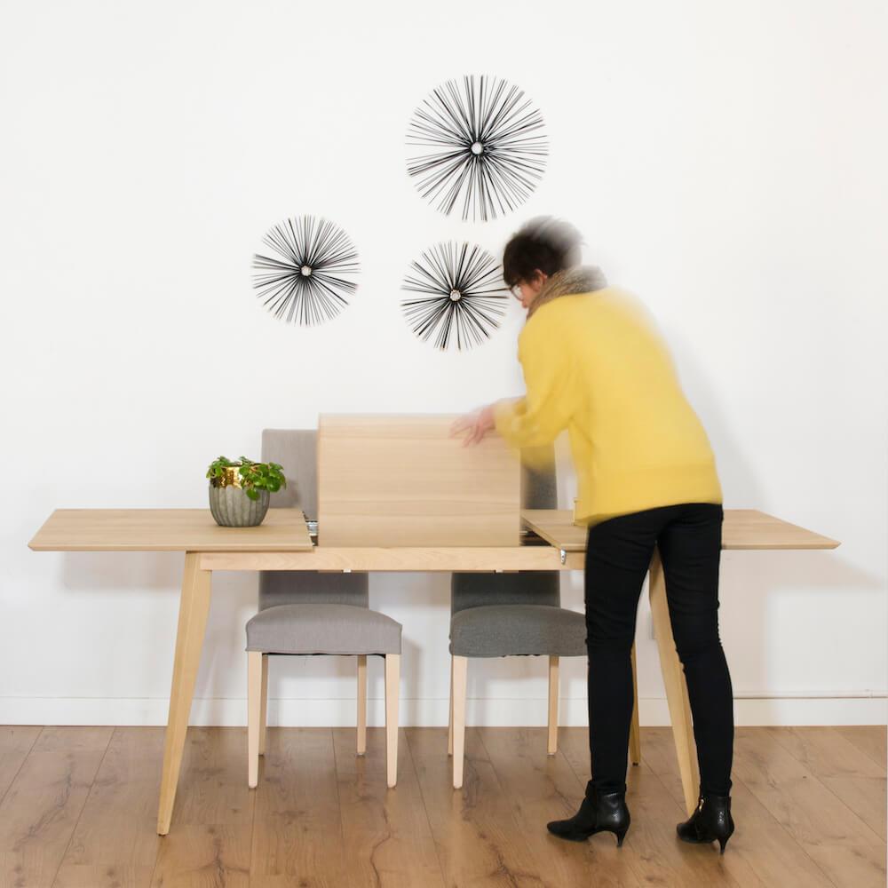 ¿Cómo elegir bien una mesa de comedor? mesas fijas vs mesas extensibles.