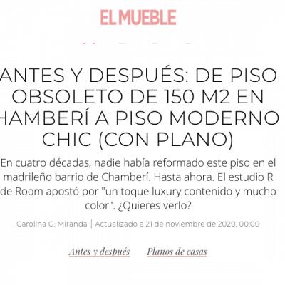 Publicación del proyecto SANTA ENGRACIA en la revista EL MUEBLE.