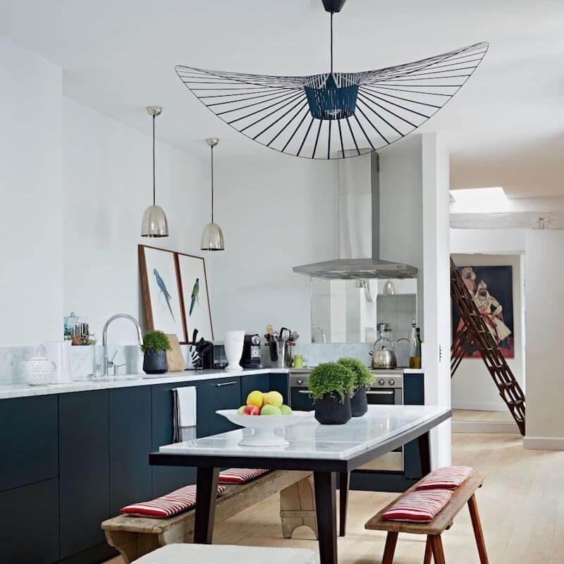 R DE ROOM lámpara de techo suspendida vértigo, diseño de Constance Guisset para Petite Friture.