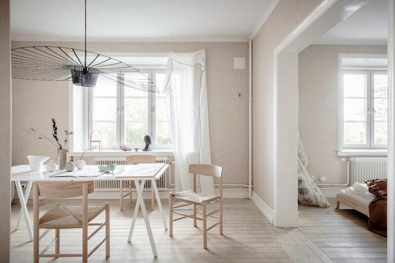 R DE ROOM lámpara de techo suspendida vértigo en color verde, diseño de Constance Guisset para Petite Friture.