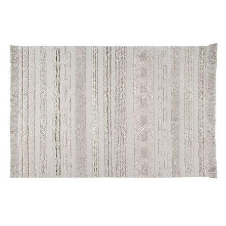 R DE ROOM alfombra lavable de algodón tejida a mano modelo AIR de Lorena Canals.