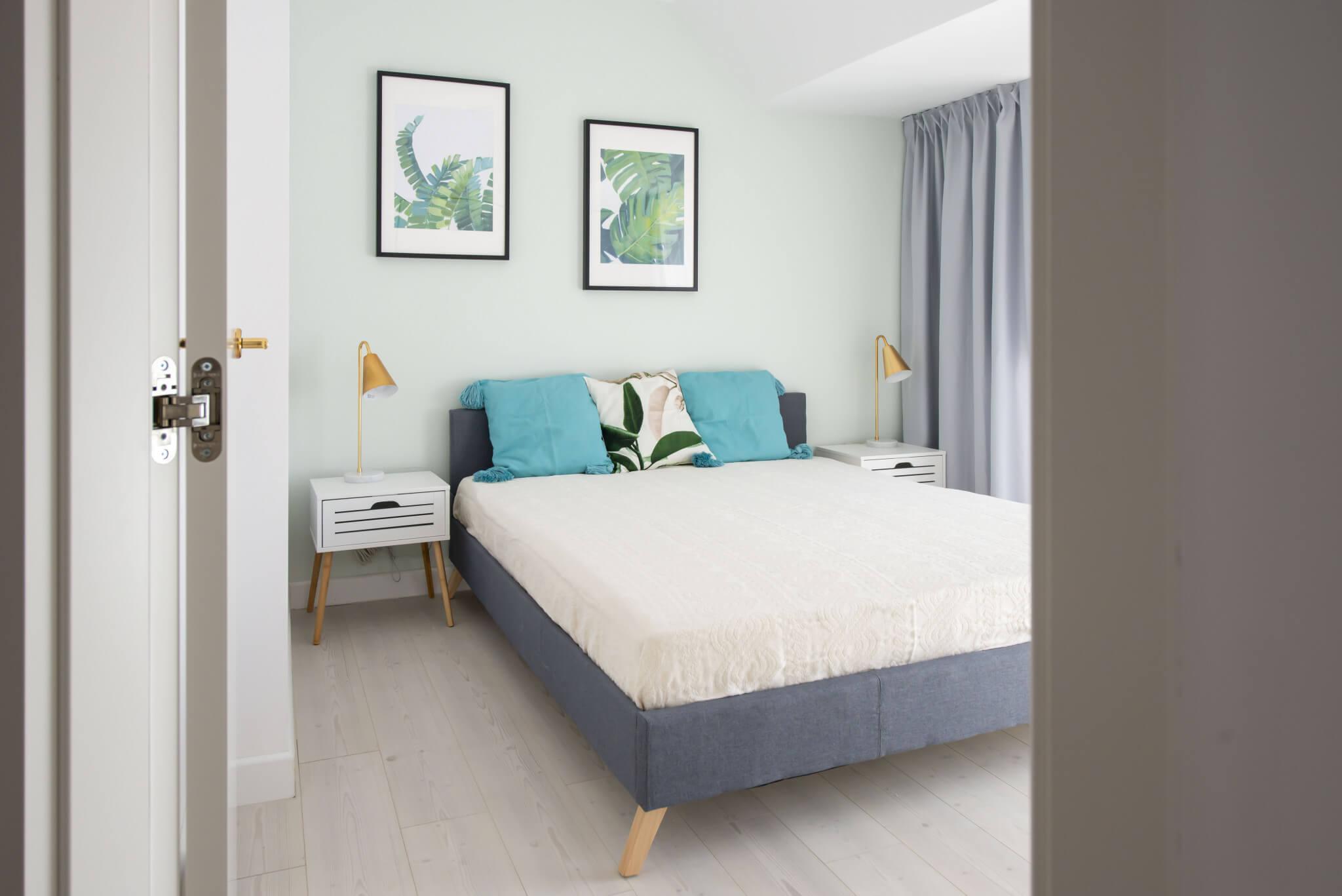 Cambio de imagen de un apartamento de alquiler_proyecto de interiorismo dormitorio principal
