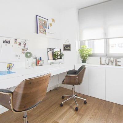 R de Room_interiorismo de vivienda en Montecarmelo_Madrid_despacho_homeworking