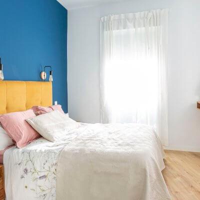 Dormitorio principal. Proyecto de R de Room.